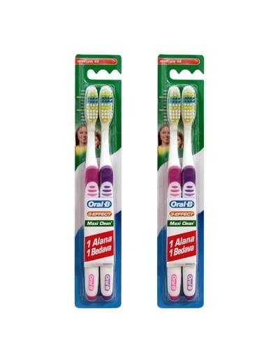 Oral-B Diş Fırçası Maxi Clean Orta 40 (1+,RNKSZ Renksiz